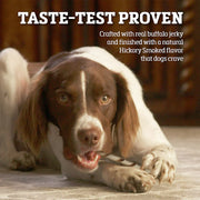 Buffalo Range Natural, Grain Free Jerky Twist Rawhide Chews for Dogs