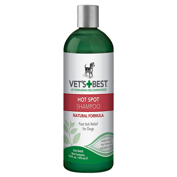 Vets Best Hot Spot Shampoo for Dogs 16oz