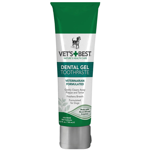 Vets Best Dental Care Gel for Dogs 3.5oz