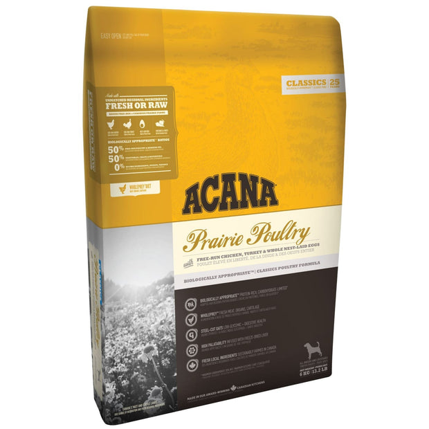 Acana Dog Prairie Poultry (11.4kg) - Dog Food
