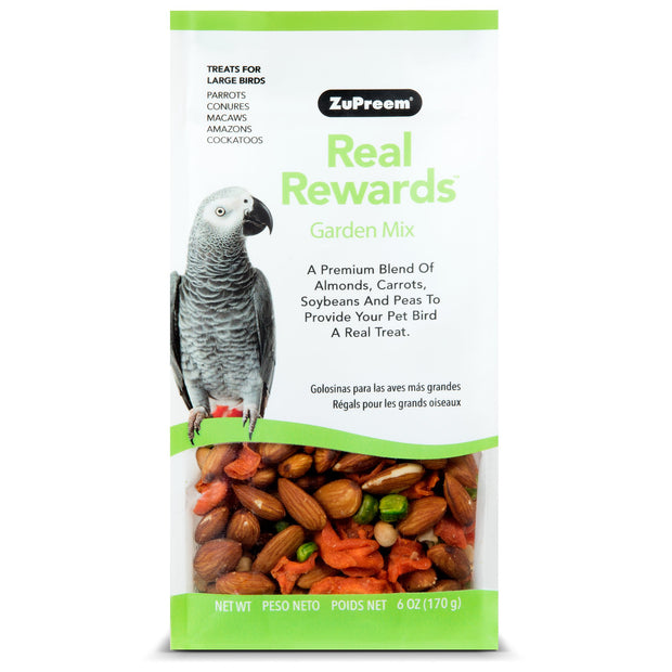 Zupreem Large Parrot Treats Garden Mix