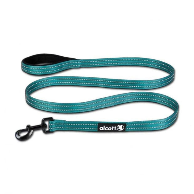 Alcott Adventure 6ft Leash - Blue - Collars & Fashion