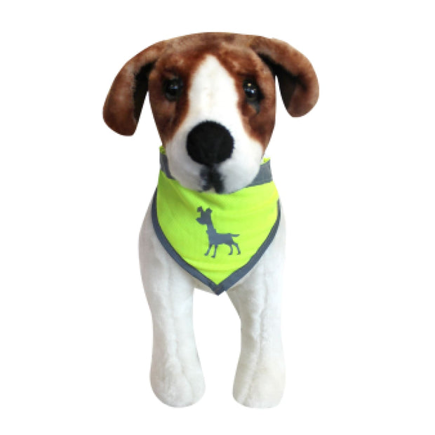 Alcott Visibility Dog Bandana - Yellow / Small - Collars &