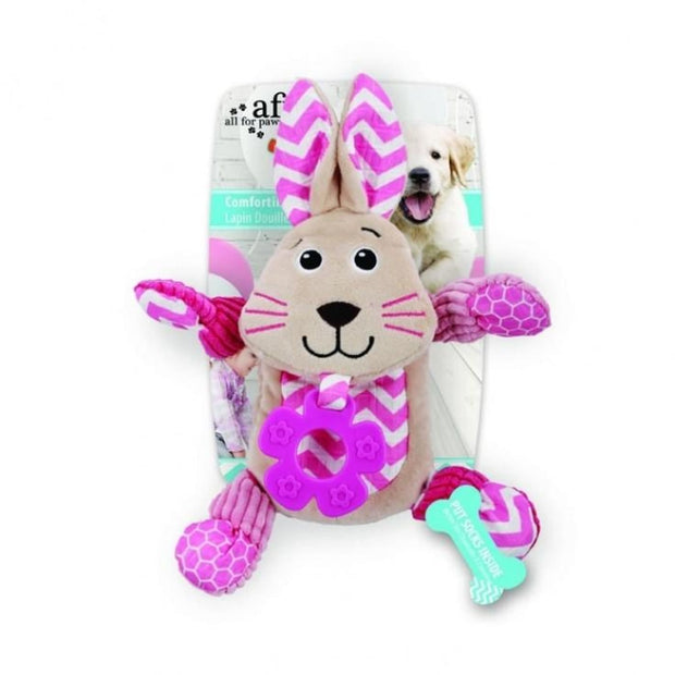 All For Paws Little Buddy Comforting Bunny - Dog Toys