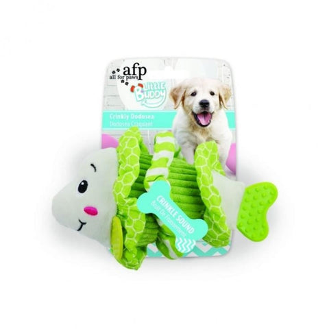 All For Paws Little Buddy Crinkly Dodosea - Dog Toys