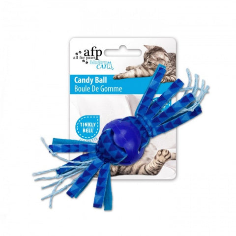 All For Paws Candy Ball - Blue - Cat Toys