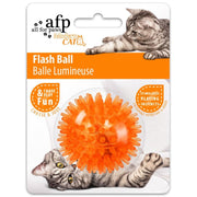 All For Paws Cat Flash Ball - Orange - Cat Toys