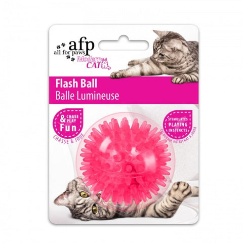 All For Paws Cat Flash Ball - Pink - Cat Toys