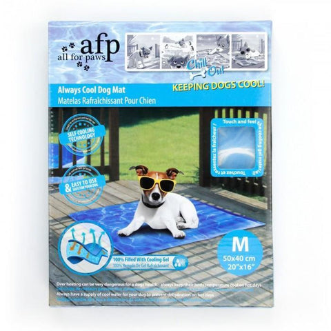 All For Paws Chill Out Always Cool Dog Mat - Medium - Beds
