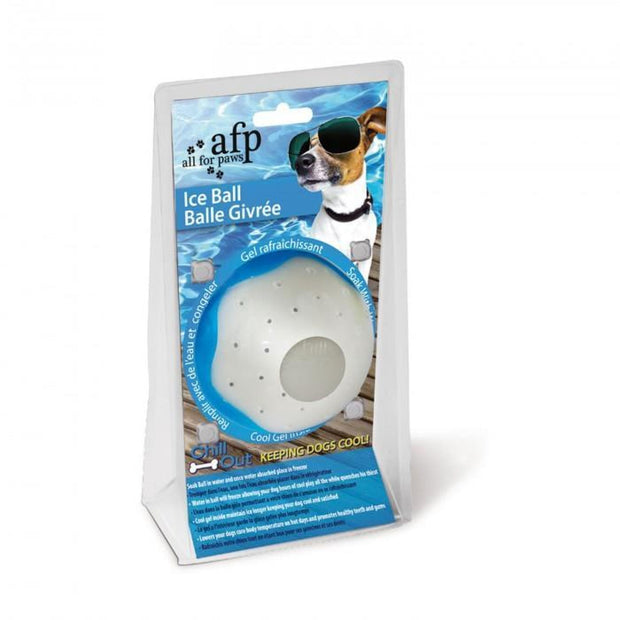 All For Paws Chill Out Ice Ball - Dog Toys