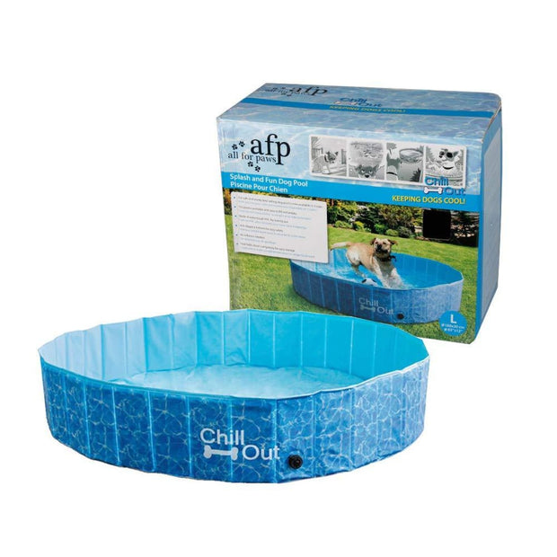 All For Paws Chill Out Splash Dog Pool - Beds Crates &