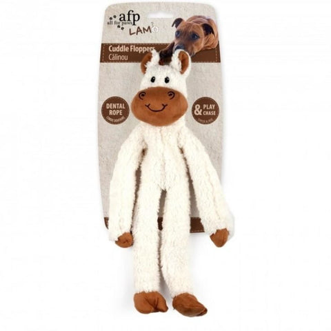All For Paws Cuddle Ropey Flopper Horse - Dog Toys