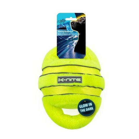 All For Paws Glowing Handle Ball - Dog Toys