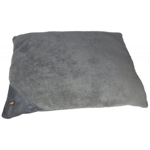 All For Paws Lambswool Pillow Bed - Grey / Small - Beds