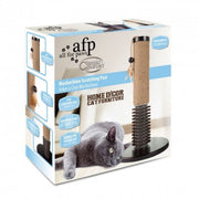 All For Paws Mochachino Scratching Post With Rubber Bristles