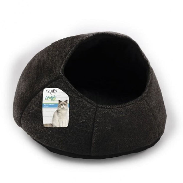 All for Paws Nest Cat Bed - Black - Beds & Cat Carriers