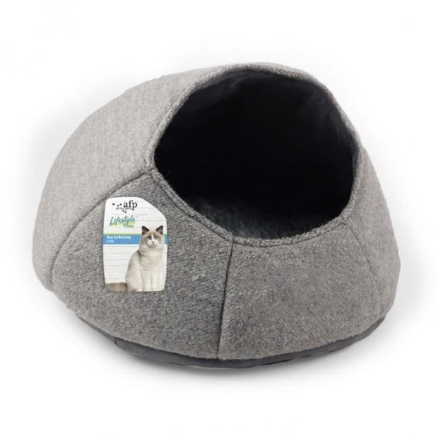 All for Paws Nest Cat Bed - Grey - Beds & Cat Carriers