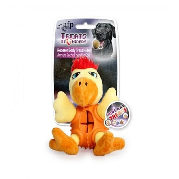 All For Paws Rooster Body Treat Hider - Dog Toys
