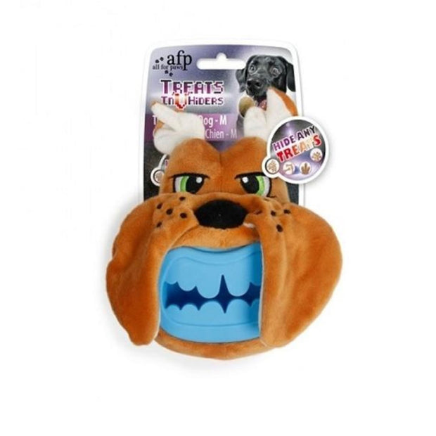 All For Paws Treat Hider Dog Head - Dog Toys