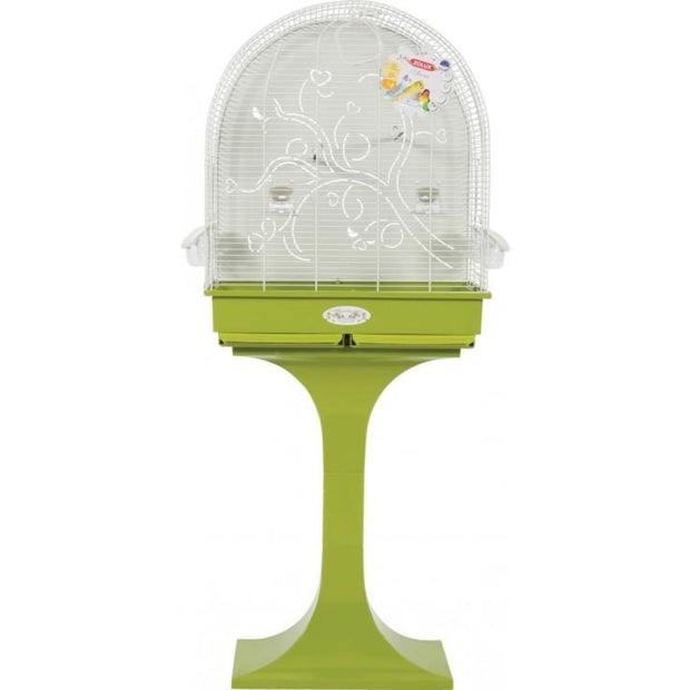 Anna Arabesque Bird Cage - Olive - Bird Cages & Homes