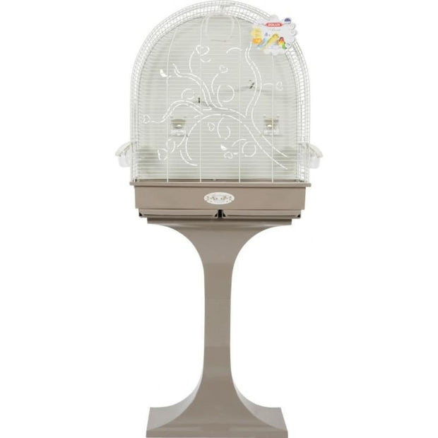 Anna Arabesque Bird Cage - Taupe - Bird Cages & Homes