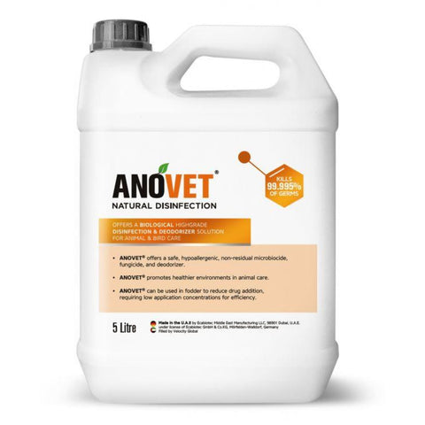 Anovet Natural Disinfection Concentrate - First Aid