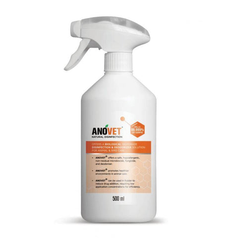 Anovet Natural Disinfection Spray - 500ml - First Aid