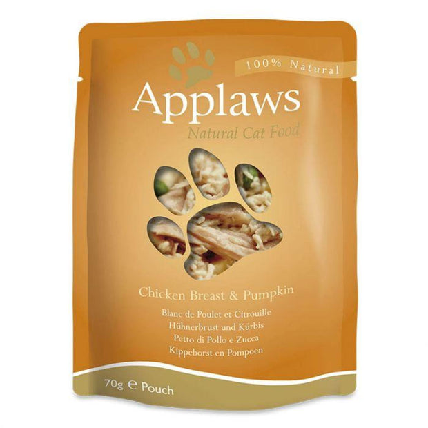 Applaws Broth Pouch Chicken with Pumpkin 70g - Cat Food