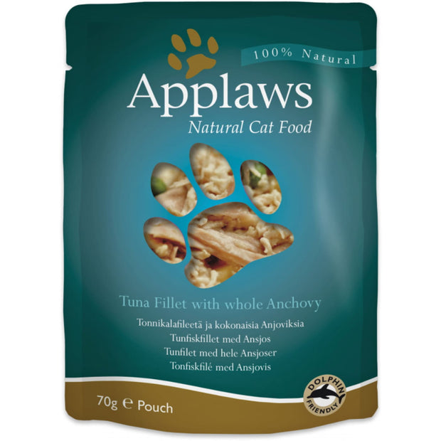 Applaws Broth Pouch Tuna with Anchovy 70g - Cat Food