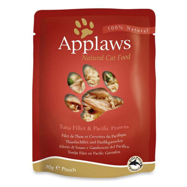 Applaws Broth Pouch Tuna with Pacific Prawn 70g - Cat Food