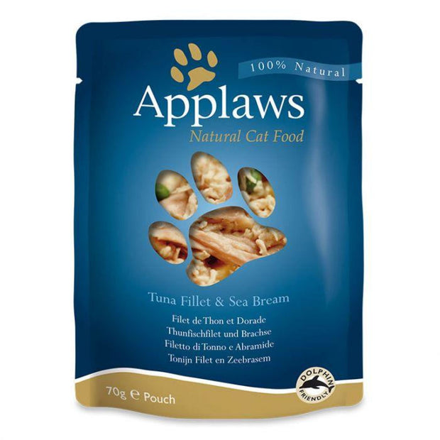 Applaws Broth Pouch Tuna with Seabream 70g - Cat Food