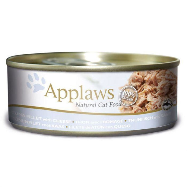 Applaws Cat Tuna with Cheese (156g Tin) - Cat Food
