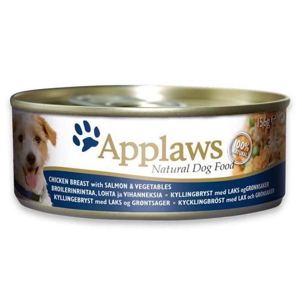 Applaws Dog Chicken Breast with Salmon & Vegetables (156g