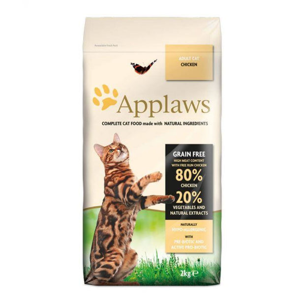 Applaws Dry Adult Cat - Chicken 2kg - Cat Food