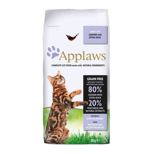 Applaws Dry Adult Cat - Chicken with Extra Duck 2kg - Cat