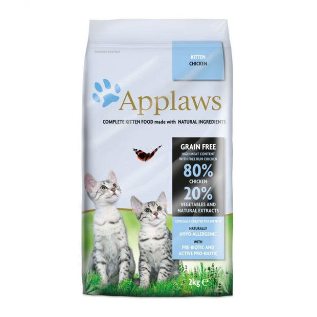 Applaws Dry Kitten Chicken 2kg - Cat Food