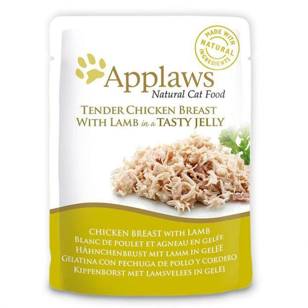 Applaws Jelly Pouch - Chicken with Lamb (70g) - Cat Food