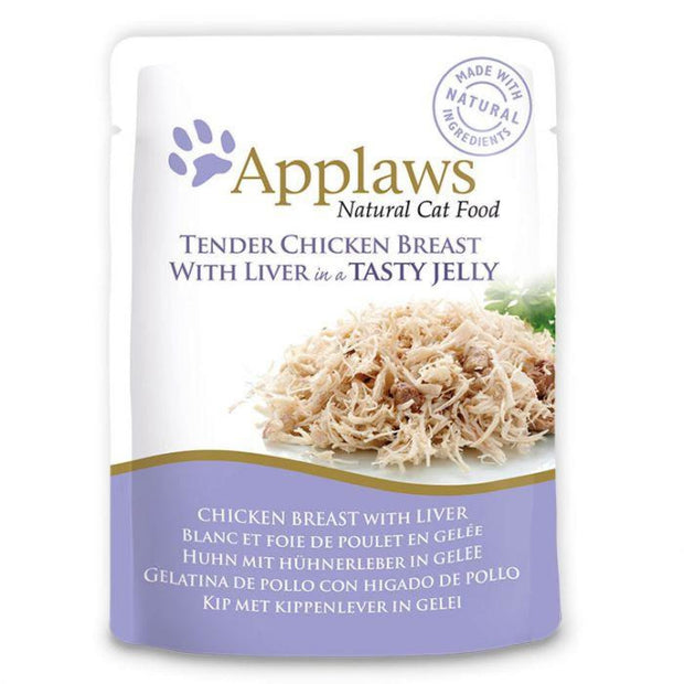 Applaws Jelly Pouch - Chicken with Liver (70g) - Cat Food