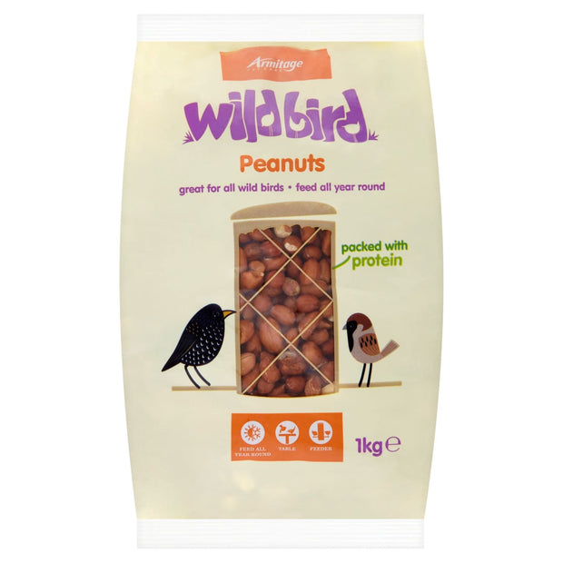 Armitage Wild Bird Peanuts - 1kg - Bird Food