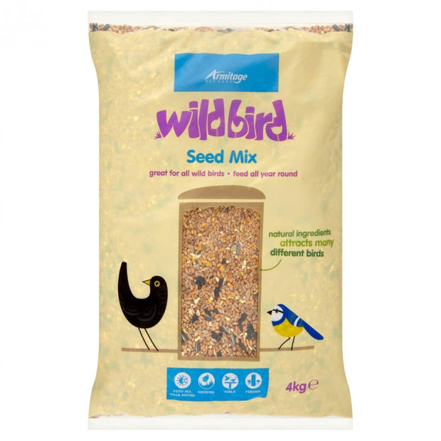 Armitage Wild Bird Seed Mix - 4kg - Bird Food