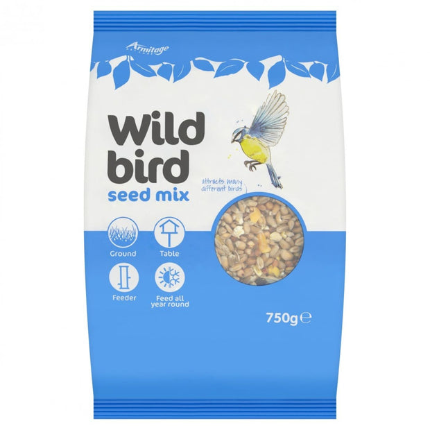 Armitage Wild Bird Seed Mix - 750g - Bird Food
