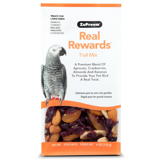 Zupreem Large Parrot Treats Trail Mix