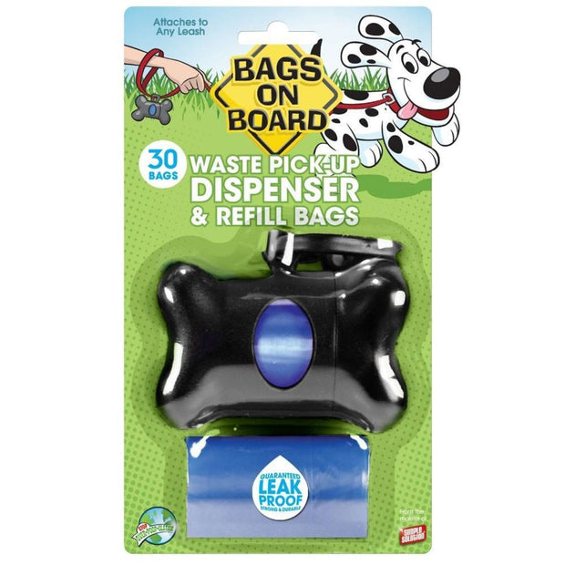Bags On Board Dispenser Black Bone - Beds Crates & Outdoors