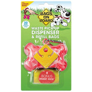Bags On Board Dispenser Pink Bone - Beds Crates & Outdoors