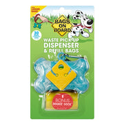 Bags On Board Dispenser Turquoise Bone - Beds Crates &