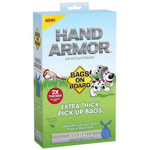 Bags on Board Hand Armour Extra Thick Dog Waste Bags - Beds
