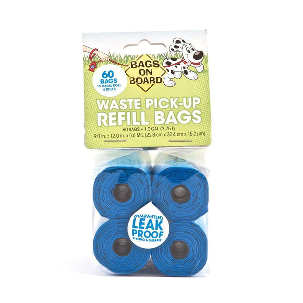 Bags On Board Refill Bags - Blue - Beds Crates & Outdoors