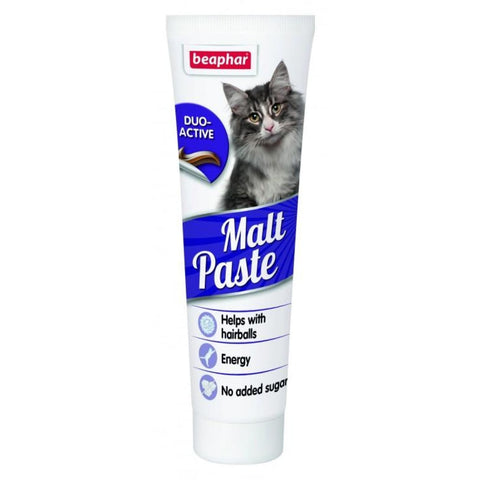 Beaphar Anti-Hairball Malt Paste - Cat Treats