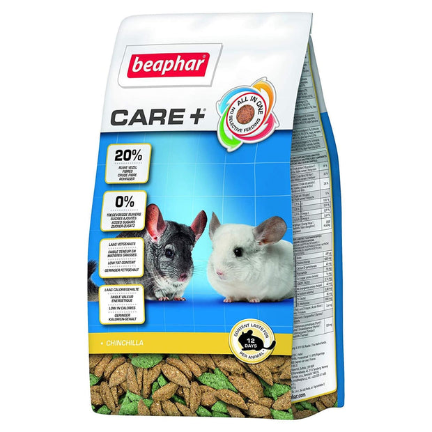 Beaphar Care+ Chinchilla Food - 1.5KG - Food & Hay