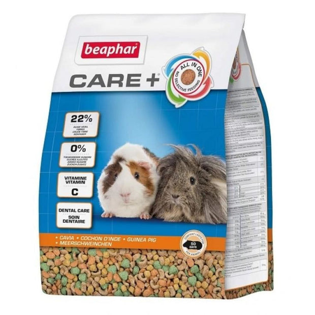 Beaphar Care+ Guinea Pig Food - Food & Hay
